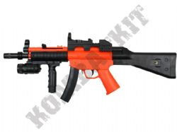 HY015B MP5 Style Spring Rifle Airsoft BB Gun 2 Tone Orange Black